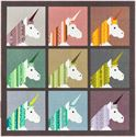 Bild på Lisa the Unicorn a pattern By Elizabeth Hartman